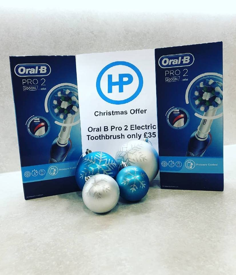 Our Winter Offer Oral B Pro2 reduced from £47 to £35